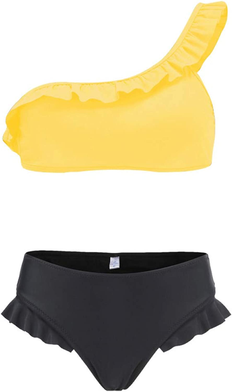 CHENG Bikini Sparkling Bikini Damen Bademode Badeanzug Für Frauen Zweiteiliger Bikini-Set Halter Bather Badeanzug