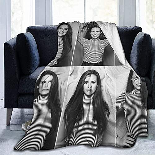 Madelaine Petsch - Manta para mujer, cálida, para sofá, cama, sala de estar, decoración del hogar, manta de franela para adultos y niños