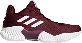 adidas Men's Pro Bounce 2018 Low Basketball CollegiateRoyal/White/CollegRoyal