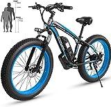 RDJM Elektrofahrräder Elektrisches Beach Bike 48V...