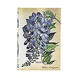 Paperblanks Agendas 12 Meses 2020 Glicinia en Flor | Apaisado | Mini (95 × 140 mm)