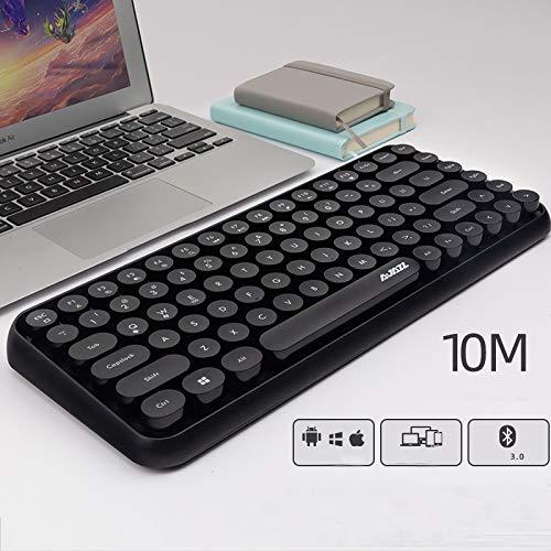 HUOQILIN Bluetooth draadloos toetsenbord laptop extern toetsenbord en muisset