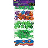 amscan Teenage Mutant Ninja TurtlesParty Supplies | Party Favor | Pack of 100,Multi Color,24' x 9 1/4'