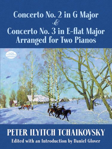 Concerto No.2 In G & Concerto No.3 In E Flat: Noten für Klavier (2) (Dover Classical Music for Keyboard and Piano Four Hands)