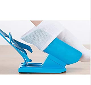 JZIKI Slider Aid Kit Sock Helper No Bending Pregnancy and Injuries Living Tool Shoe Horn Suitable Easy Way to Put On Socks Protect