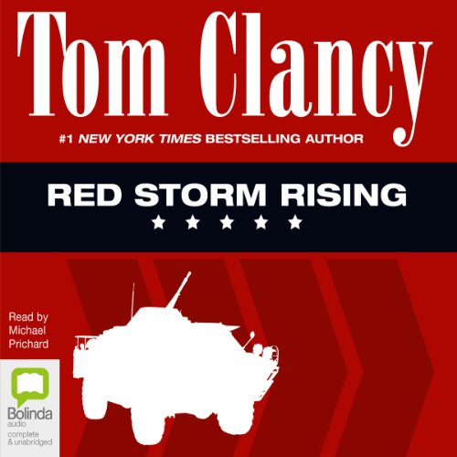 Red Storm Rising audiobook cover art