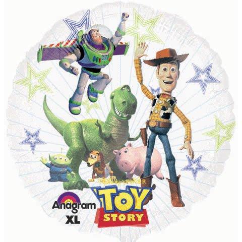 Anagram International Toy Story Seethru Pack, 26'