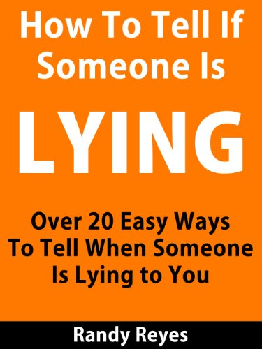 Tell signs to is you someone if lying to Signs He