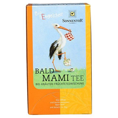 Sonnentor Bald Mami-Tee Bio-Bengelchen Teebeutel, 20 g - Bio