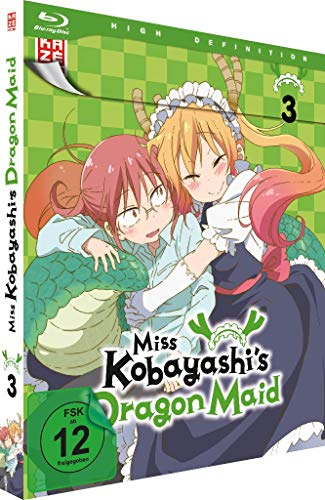 Miss Kobayashi's Dragon Maid - Vol. 3 - [Blu-ray]