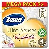 Zewa Toilettenpapier trocken Ultra Senses Riesenpackung (7 x 8 Rollen)