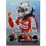 Sebastian Vettel Wandkunst Leinwand Malerei HD-Drucke
