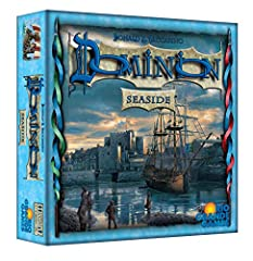 For 2-4 Players Takes about 30 minutes to play This is an expansion - you need Dominion or Dominion Intrigue in order to use it Nautical expansion to the popular Medieval card game Dominion