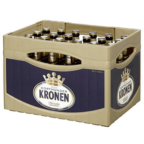 24 Flaschen Dortmunder Kronen Pils 0,33L hell inc. 1.96€ MEHRWEG Pfand 4,8% vol. ohne Rahmen