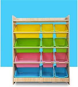 KANGJIABAOBAO Toy Storage Box Book And Toy Organizer For Organizing Toy Storage Baby Toys Kids Toys Dog Toys Baby Clothing Childrens Toy Box  Color Beige  Size Free size
