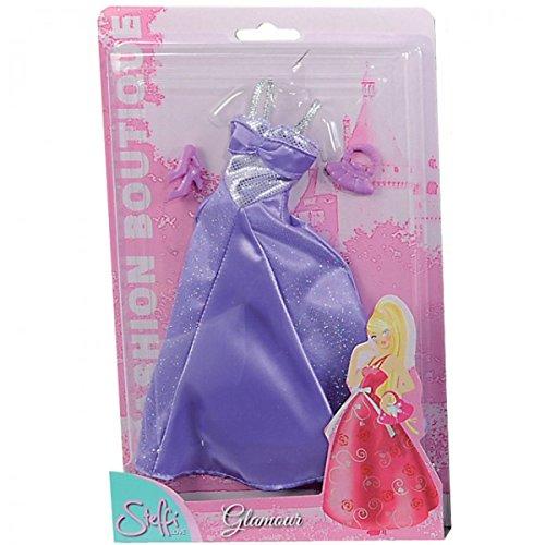 Simba Steffi Love Fashion Boutique Glamour Kleidung Kleid Ballkleider für 29cm Puppen Abendkleid,...