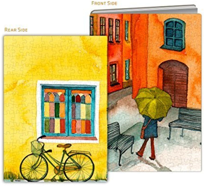 Los mejores precios y los estilos más frescos. Pintoo - - - Y1017 - Puzzle Cover - Les Rues Tranquilles - 329 Piece Plastic Puzzle by Pintoo  barato y de moda