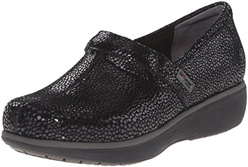 SoftWalk Women's Meredith Clog, Black Mosaic, 10.0 M US