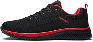 Placextre Men Sports Shoes, Breathable Lightweight Sweat-abosorption Anti-Slip Shoes