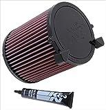 K&N E-2014 Waschbarer und wiederverwendbarer KFZ Tauschluftfilter