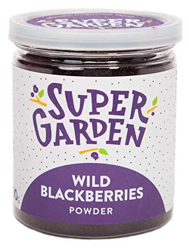 Supergarden Gefriergetrocknetes Brombeerpulver - 100% Rein Und Natürlich - Für Veganer Geeignet - Ohne Zuckerzusatz, Künstliche Zusatzstoffe Und Konservierungsmittel