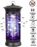 QDWRF Lámpara Antimosquitos Portátil, Asesino electrónico de Insectos con luz LED, lámpara para Matar Mosquitos Insecto Insecto atrapa Moscas trampas repelentes de Control de plagas para el hogar