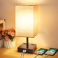 Mlambert 3-Way Dimmable Touch Control Table Lamp