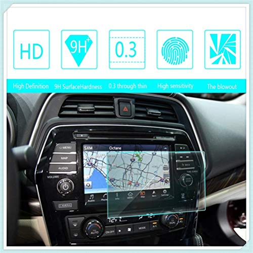 for Nissan Maxima 8 Inch Navigation Screen Protector Touch Screen Display Film 9H Hardness Anti Glare Anti Scratch GPS Screen Protector Foils
