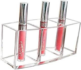 WEIUTY Belleza Cosmética Y Barra De Labios Organizador Soporte De Exhibición Acrílico Transparente Ideal para Almacenar Barniz De Esmalte De Uñas Lápices Labiales Juegos De Maquillaje Cepillos