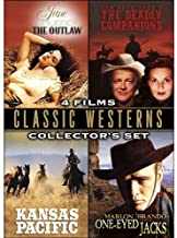 Classic Westerns Collector's Sets: (The Outlaw / The Deadly Companions / Kansas Pacific / One-eyed Jacks)