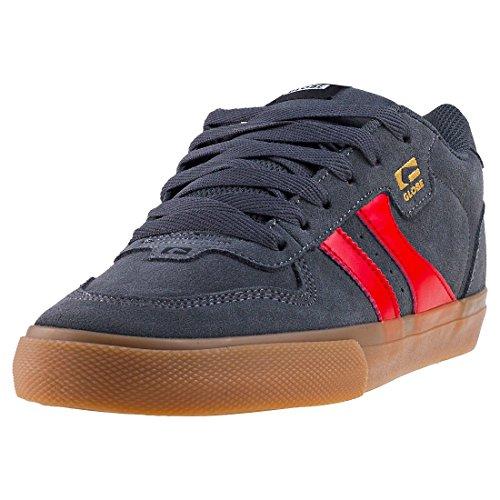 GLOBE Encore-2, Zapatillas de Deporte Hombre, Multicolor (Charcoal/Gum/Red 000), 39 EU