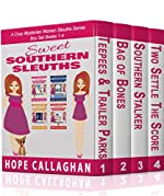 Sweet Southern Sleuths Cozy Mysteries: Box Set I: (Books 1-4) (Sweet Southern Sleuths Boxed Set Book 1)