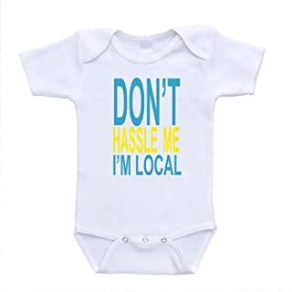 Don't Hassle Me I'm Local Bill Murray Shirt Funny Baby Bodysuits (newborn (0-3 Months)