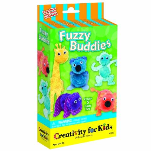 Creativity for Kids - Cfk1982 - Kit De Loisirs Créatifs - Mini-kit De Copains en Feutre