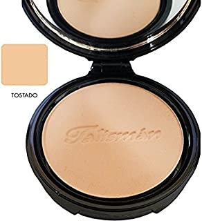 Talisman Cream Powder Natural .45 Oz. With Mirror-Polvo Crema Compacto Con Espej (Tostado)