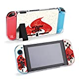 SUPNON Carry Case Compatible with Nintendo Switch, Ultra Slim Hard Shell, Protective Carrying Case for Travel - Pain is Fuel Sport and Fitness Motivation Design28006