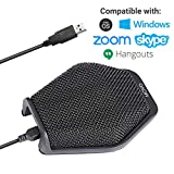 Movo MC1000 Conference USB Microphone for Computer Desktop and Laptop with 180°...