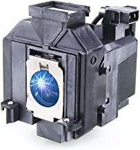 Huaute V13H010L69 / ELPLP69 Replacement Projector Lamp with Housing for Epson Elplp69 PowerLite Home Cinema 5020ub 5030ub 5025ub 5020ube 5030ube 5010E Pro Cinema 6030ub 6020UB 6010 4030 Projectors