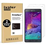 ivoler [Pack de 2] Verre Trempé Compatible avec Samsung Galaxy Note 4 [Garantie à Vie], Film Protection en Verre trempé écran...