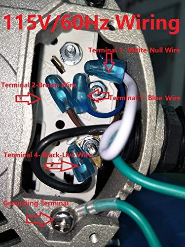 KL KEY LANDER Hot Tub Spa Circulation Pump; 48Frame LX Motor (115V OR 230V/60Hz); 1.5