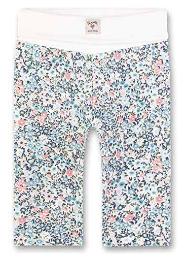 Sanetta Trousers Woven Lined Pantalon, Turquoise (Curacao 5288), 74 (Taille Fabricant: 074) Bébé Fille