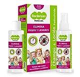 BACTERISAN Bacterisan Pack Pediculicida - Elimina piojos y liendres 100ml |...