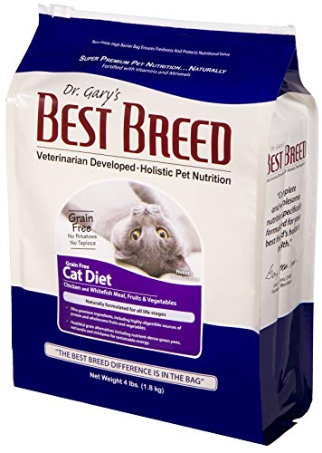 Best Breed Grain Free Cat Diet Made in USA...