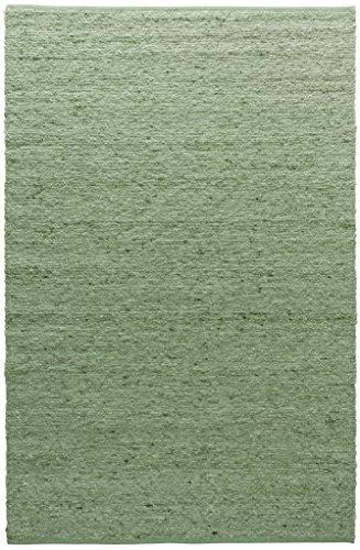 TISCA Teppich aus Schurwolle Rouge Apfel (Verschiedene Größen) 200 x 240 cm