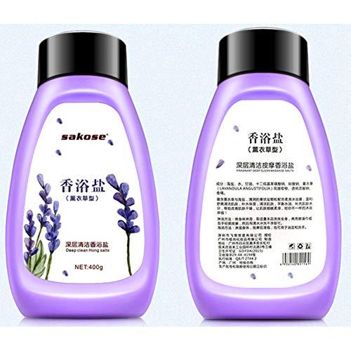 Yiwa Lait exfoliant pour le corps à la lavande blanchissant Gel exfoliant Lotion peeling nettoyante en profondeur Lavender
