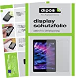 dipos I 2X Schutzfolie matt kompatibel mit Medion Lifetab P9702 Folie Bildschirmschutzfolie