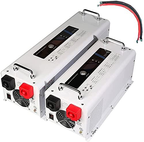 COUYY Power Inverter 3 Volte Peak Power Solar SololToltaic Inverter Controller Macchina Integrata 1000W / 1500W / 2000W / 3000W 12V / 24V / 48V a 230V,12v 1000w