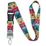 french bulldog lanyard - Dog Breed Lanyard (French Bulldog)