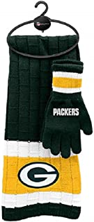 Green Bay Packers Knitted Scarf and Glove Set