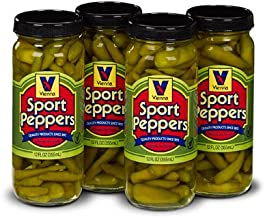 Vienna Sport Peppers, 12 oz, For Chicago Dogs (4 Pack)
